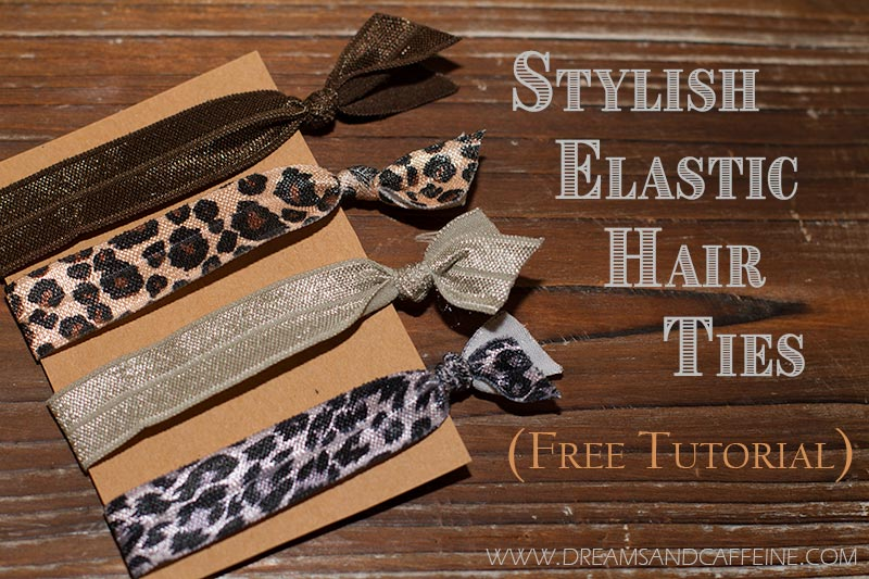 Stylish Elastic Hair Ties - Dreams and Caffeine