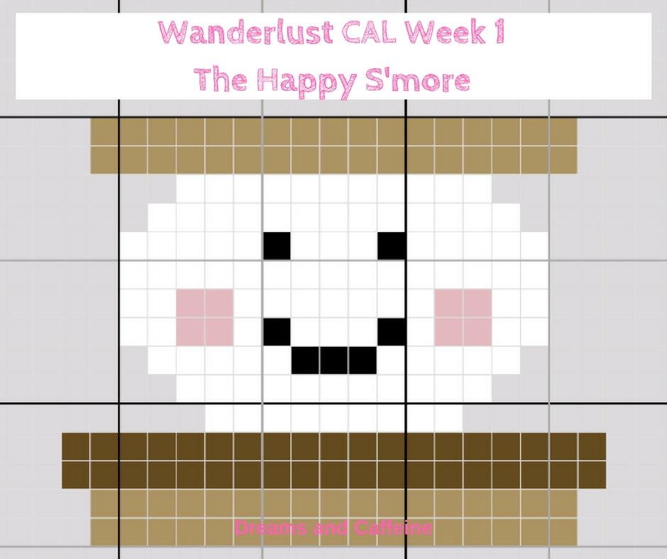 Wanderlust CAL Week 1The Happy S'more