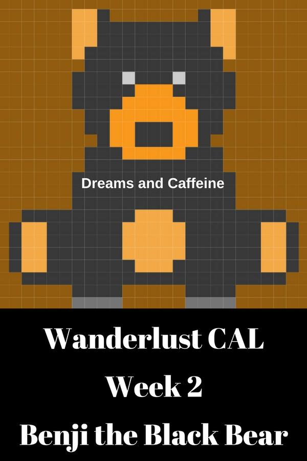 Wanderlust CAL Week 2 - Benji the Black Bear