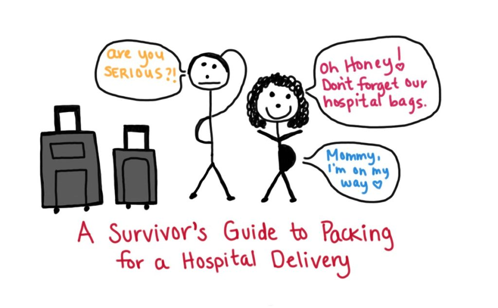 A Survivor's Guide to Packing for a Hospital Delivery
