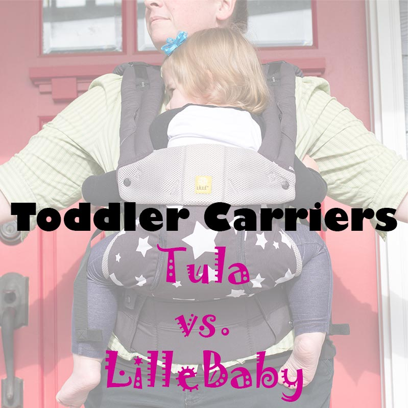 Toddler Carrier Review Tula vs LilleBaby
