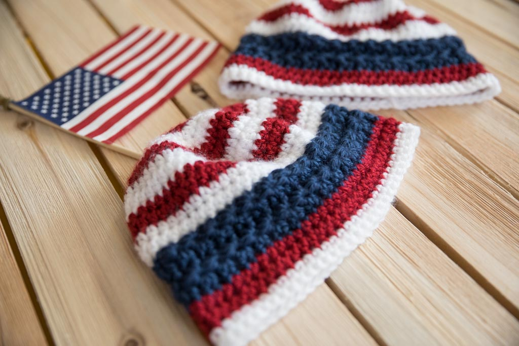 Stars and Stripes Beanie