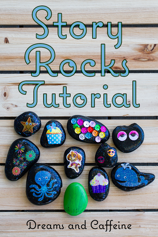 I will be sharing my tutorial on how to create Story Rocks. Story Rocks are a great way to encourage literacy all while having fun.
