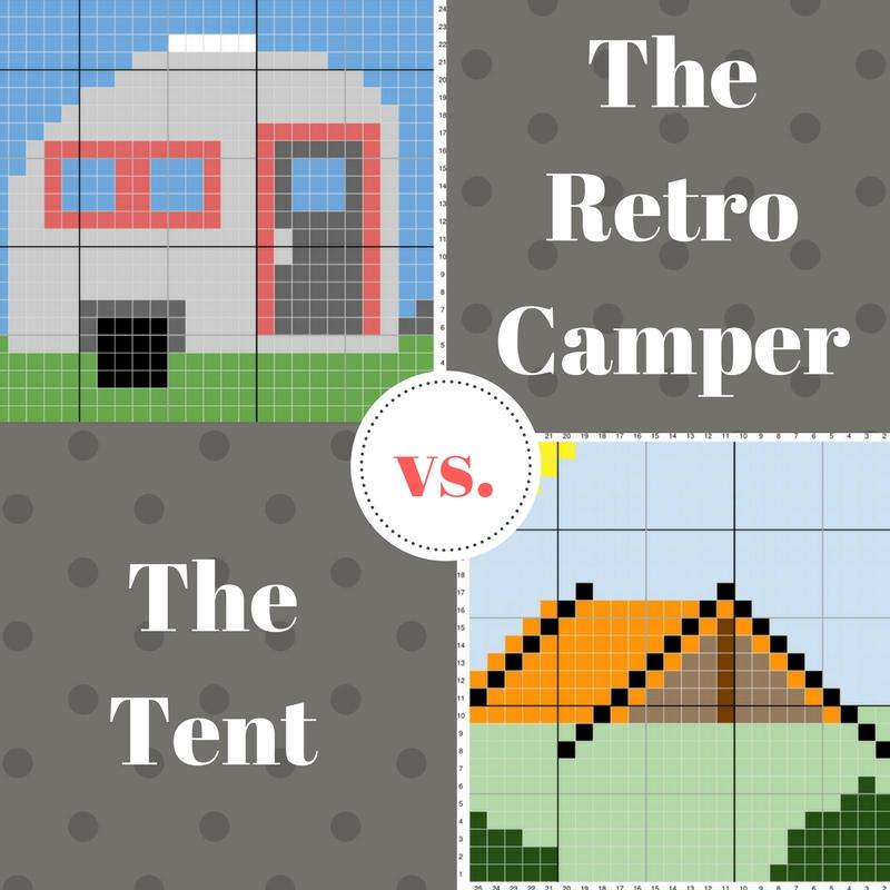 The Retro Camper vs. The Tent