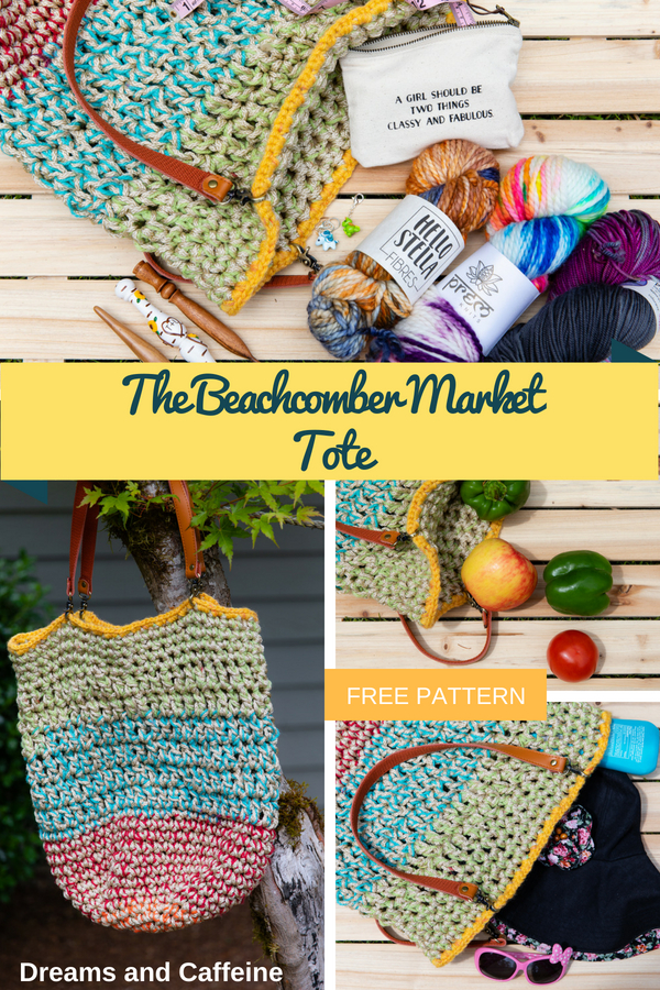 The Beachcomber Market Tote